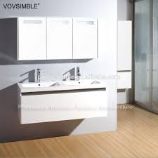 Black Painted Bathroom Cabinets Wall Mounted Mdf Matte Black Painting Bathroom Vanity Set For