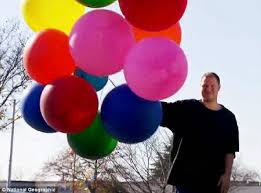 balloons for him dave collines with balloon sleeps with them kisses