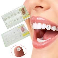 diamond stud on tooth 10pcs diamond bur dental material teeth whitening studs denture