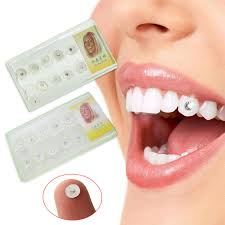 diamond stud in tooth 10pcs diamond bur dental material teeth whitening studs denture