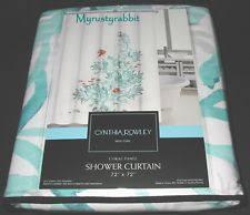 Cynthia Rowley Ruffle Shower Curtain Cynthia Rowley Shower Curtain Ebay