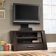Bedroom Tv Height Wall Mount Sauder Select Tv Stand With Optional Mount 414143 Sauder