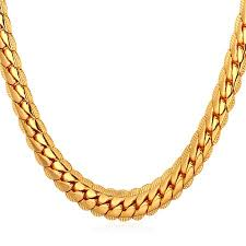 gold chain necklace snake images U7 men 39 s hip hop 18k gold plated snake chain necklace jewelry 18 jpeg