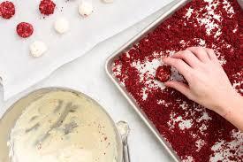 red velvet cheesecake bites how to make red velvet cheesecake bites