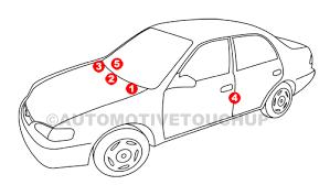 isuzu paint code locations touch up paint automotivetouchup