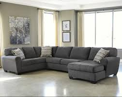 benchcraft sorenton contemporary 3 piece sectional with right