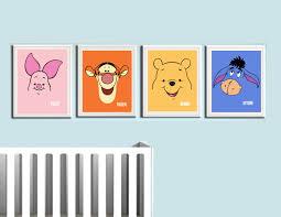 winnie the pooh nursery prints 4 pack coliseum graphics online winnie the pooh nursery prints 4 pack