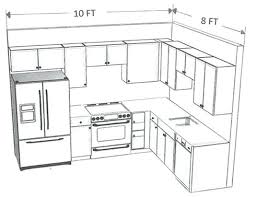 how to layout a kitchen 8 10 kitchen layout flaviacadime com