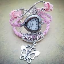 girls bracelet watches images Women girls heart dial love letter ca end 9 9 2016 1 15 pm jpg
