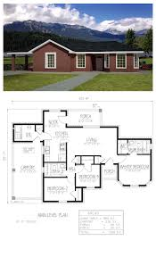 southwest house plan 71935 total living area 990 sq ft 3