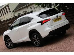 lexus nx used for sale uk used lexus nx 300h suv 2 5 f sport e cvt 4wd 5dr p navi in