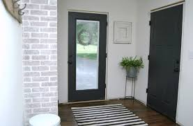 How To Paint Interior Doors by Mudroom Progress Paint Makes All The Difference Little House Of