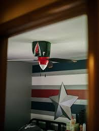 Target Ceiling Fan by Shark Warplane Ceiling Fan Stay On Target Technabob