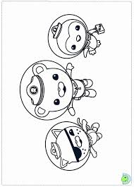octonauts coloring page many interesting cliparts
