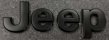 black jeep badge for jk wranglers mopar 68185492aa 68185492aa