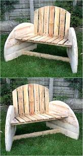 garden furniture wood and metal outside wooden benches plans full