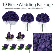 wedding flowers ebay 10 wedding package silk wedding flowers
