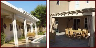 custom aluminum aluminum wood patio cover contractor riverside