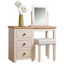 Single Pedestal Dressing Table Sandpiper Handmade Industrial Computer Study Desk Dressing Table
