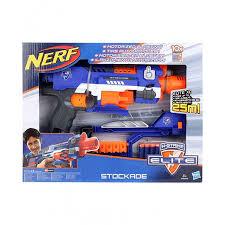 nerf car gun funskool u2013 nerf funskool n strike elite stockade gun u2013 hunky dory