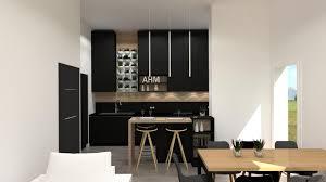 cuisine noir bois cuisine photo 1 2 3514641 of cuisine bois et noir deplim com