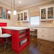 Craft Sewing Room - image result for kitchen cabinets used in craft room craft room