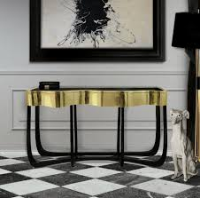 living room consoles top 3 bespoke brass console table for your living room interior