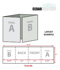 brochure 4 fold template four fold brochure template indesign 4 panel brochure template