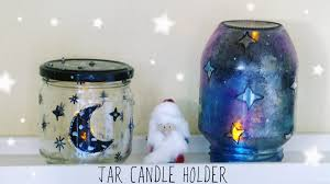 recycled candle holder christmas crafts 2015 youtube