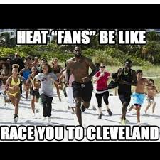 Heat Fans Meme - backtocleveland dwyane wade heat fans get scorched with memes