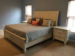 Greensburg Storage Sleigh Bedroom Set Prentice King Storage Sleigh Bed From Ashley B672 78 76 99