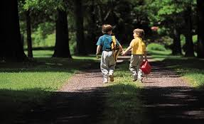 why a stroll in the park is as at calming children as ritalin