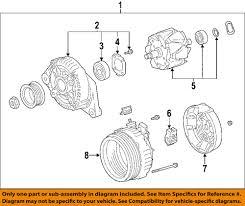 lexus is350 for sale tampa fl lexus toyota oem 06 13 is350 alternator 270603106284 ebay