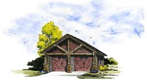 cabin garage plans mountain cabins collection ken pieper