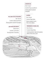 Napa Valley Winery Map Shafer Vineyards Merlot