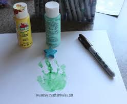 christmas tree handprint art fspdt