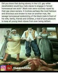 Black Sex Memes - did you know that during slavery in the us gay white slaveholders