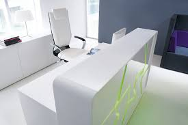 Small Hair Salon Modern White Hair Salon Desk White Gloss Office Desk Black Salon Reception Desk