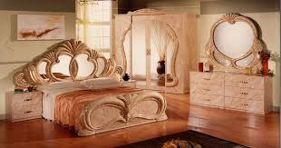 wooden furniture bed