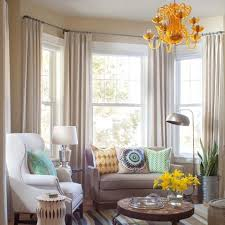Living Rooms With Curtains Best 25 Bay Window Curtains Ideas On Pinterest Bay Window