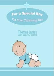 Invitation Card Design Christening Personalised Boy Christening Card Design 1