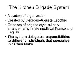 modern kitchen brigade definition modern day kitchen brigade system c h o w the kitchen brigade and