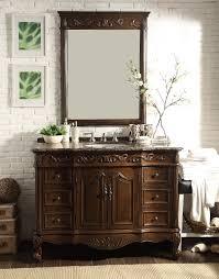 beckham bathroom sink vanity u0026 mirror set sw 3882sb tk 48 mr 3882