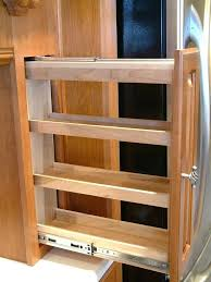 Kitchen Pantry Cabinets Roll Out Spice Racks For Kitchen Cabinets U2013 Petersonfs Me