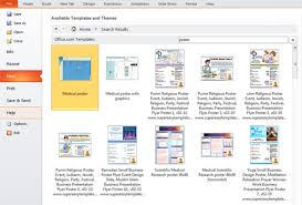 microsoft powerpoint templates for posters presentation tip how to create a poster in powerpoint 2010