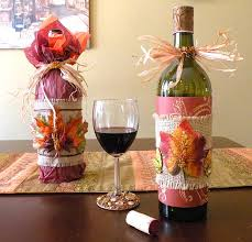 wine bottle gift wrap how to wrap a wine bottle for thanksgiving