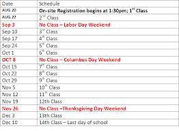 school calendar tuition jacksonville american culture