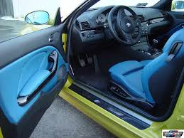 bmw blue interior worst exterior interior color combo