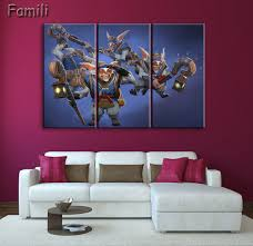 online get cheap 3 piece canvas art games aliexpress com