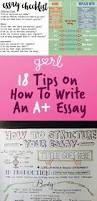 writing a good paper how to write a good essay for high school college essays college ideas about essay writing tips on pinterest essay writing infographics that will teach you how to
